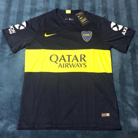 435205bb1 Nike Shirts   Boca Juniors Soccer Jersey   Poshmark